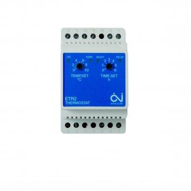 Elektroninis termostatas sniego tirpinimo sistemų valdymui (ETR2-1550)