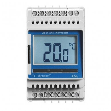 Elektroninis termostatas su LCD ekranu (ETN4-1999)