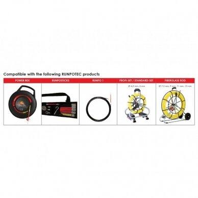 Inspektavimo kamera RUMPOCAM RC2 30m 11