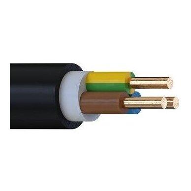 Įvadinis kabelis monolitinėmis gyslomis CYKY 3x2,5 (Cu, 750V)