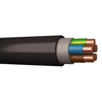 Įvadinis kabelis monolitinėmis gyslomis CYKY 5x1,5 (Cu, 750V)