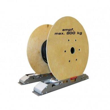 Kabelių būgnų nuvyniojimo slidės ROLL-OFF RAILS AS 900
