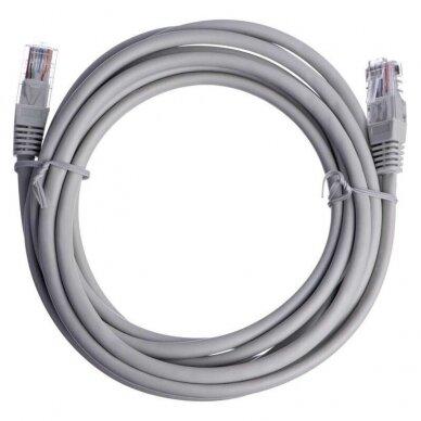 Komutacinis (jungiamasis) kabelis UTP (neekranuotas) Cat5e 3 m