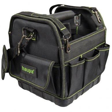 Kvadratinis įrankių krepšys, be įrankių