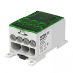 OJL400A gnybtas įėjimas 1xAl/Cu240 išėjimas 4x35/3x50mm², žalias