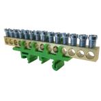 PE14 įžeminimo gnybtas 14x16mm² žalias IP00