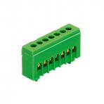 PE7H įžeminimo gnybtas 7x16mm² IP20 žalias