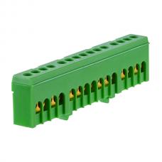 PE15H įžeminimo gnybtas 15x16mm² IP20 žalias