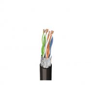 Tinklo (kompiuterinis) kabelis, FTP (ekranuotas), 5 kat., lauko