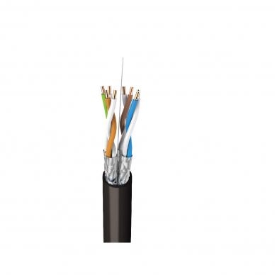 Tinklo (kompiuterinis) kabelis, FTP (ekranuotas), 6 kat., lauko