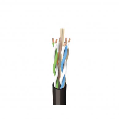 Tinklo (kompiuterinis) kabelis, UTP (neekranuotas), 6 kat., lauko