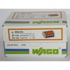 WAGO jungtis 0,08-4 mm²