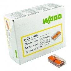 WAGO jungtis 0,14-4 mm²
