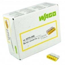 WAGO jungtis 0,5-2,5 mm²