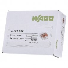 WAGO jungtis 0,5-6 mm²